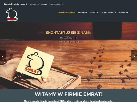 Emrat - firma zwalczająca muchy