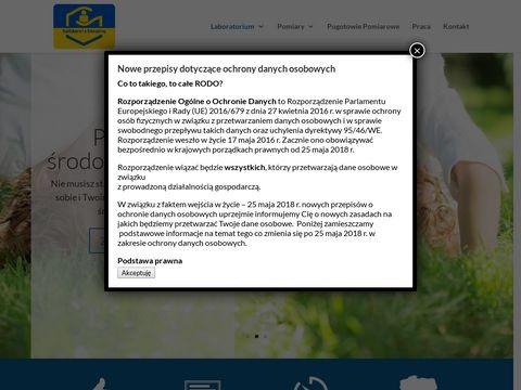 Envilab-eko.com pomiary hałasu