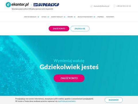 Ekantor.pl - kurs dolara