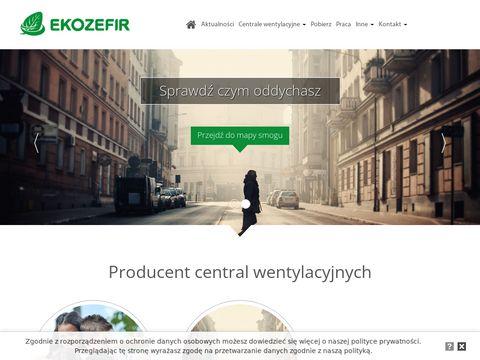 Ekozefir.pl rekuperator