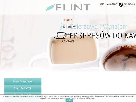 Flint dzierżawa ekspresów do kawy