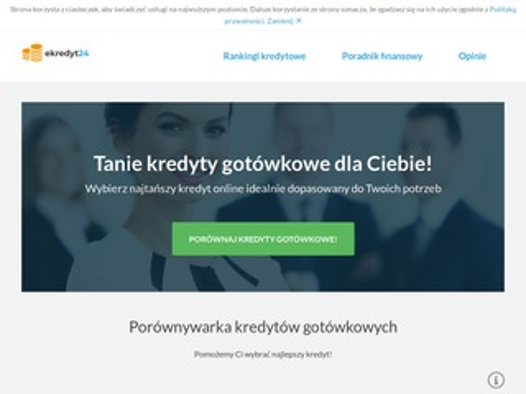 Ekredyt24.com.pl gotówkowy