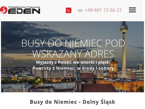Edenbus.com.pl przedsiębiorstwo przewozowe