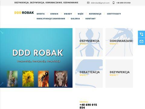 Edddrobak.pl dezynsekcja Siedlce