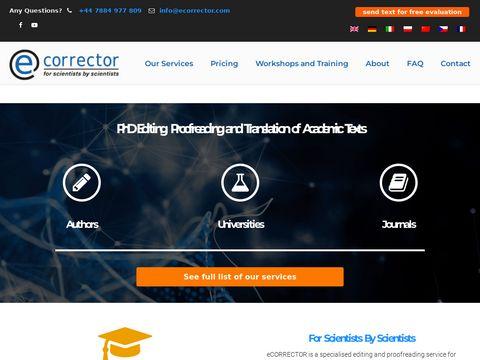 Ecorrector.com korekta publikacji