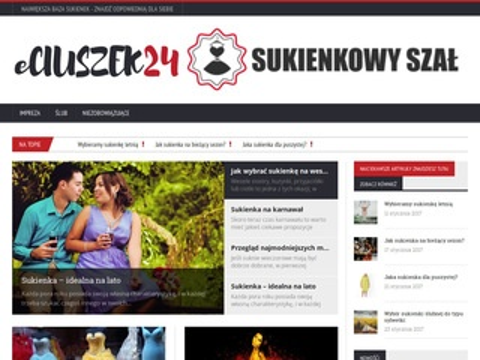 Eciuszek24.pl sklep z odzieżą dla mężczyzn