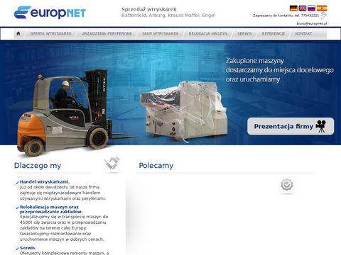 Europnet - wtryskarki używane po renowacji