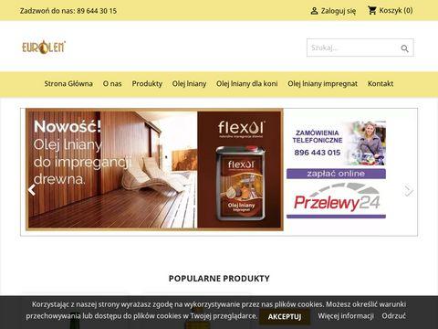 Eurolen.pl olej lniany sklep