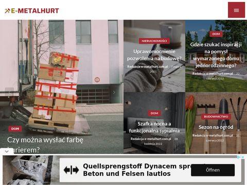 E-metalhurt.com.pl metale sklep