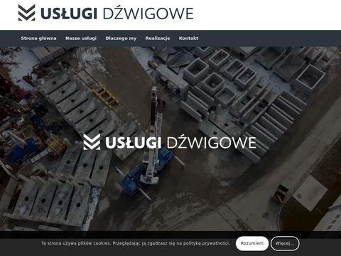 Dymeldzwigi.pl usługi dźwig Gniezno