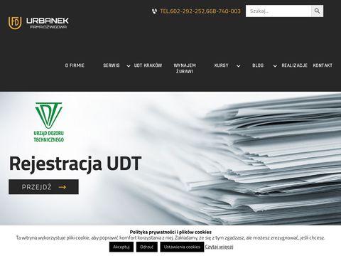 Dzwignice.pl usługi dźwigowe Kraków