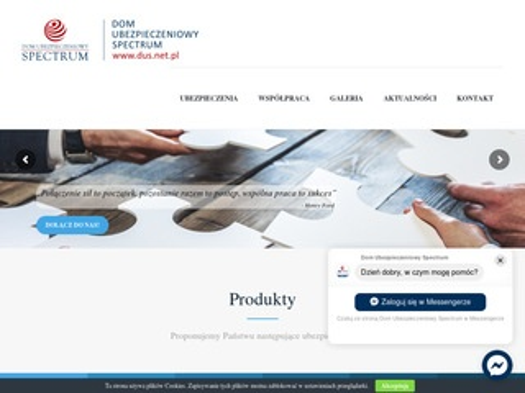 Dus.net.pl ubezpieczenia