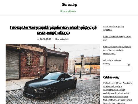 Driveracademy.pl kurs doskonalenia jazdy