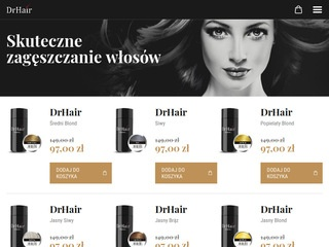 Drhair.pl mikrowłókna do włosów