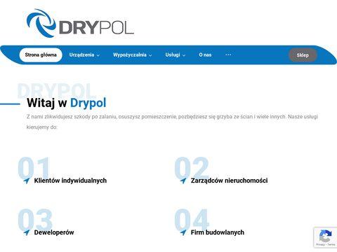 Drytech.pl osuszacze kondensacyjne