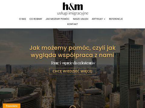 D-hm.pl zezwolenia na pracę
