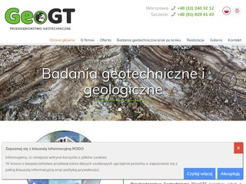 Geogt.pl badania gruntu
