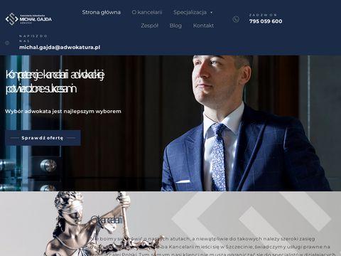 Gajda-adwokat.pl sprawy karne Szczecin