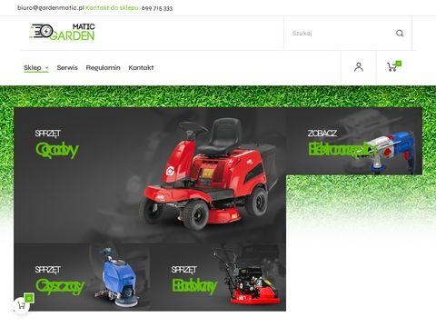 Gardenmatic.pl roboty koszące