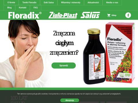 Floradix.pl niedobór żelaza przyczyny
