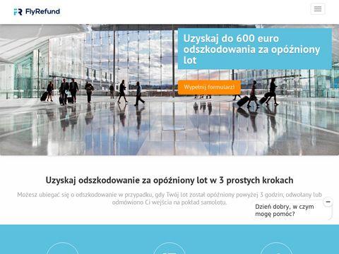 Flyrefund.pl odszkodowanie