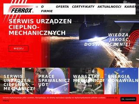 Ferrox Białystok - instalacje ciepłownicze