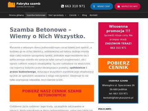 Fabrykaszamb.pl zbiorniki