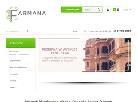 Farmana.pl - kosmetyki i suplementy