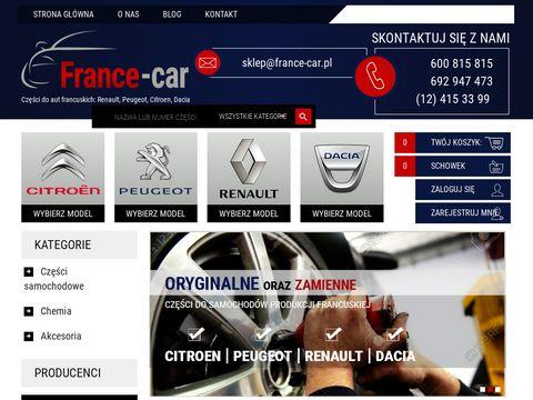 France-car.com.pl części do samochodów francuskich