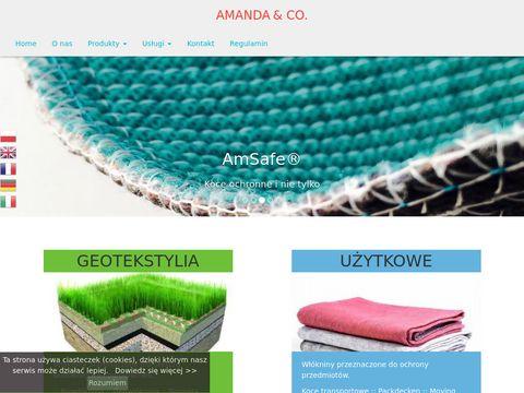 Amanda.net.pl biowłóknina