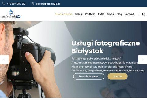 Alfadruk24.pl pogotowie komputerowe Białystok