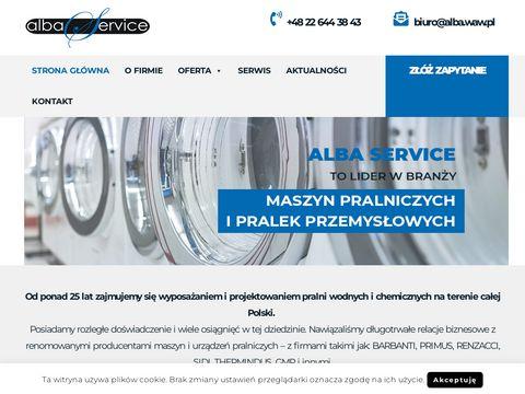 Alba.waw.pl pralnie wodne