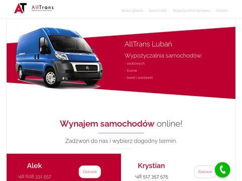 Alltrans24.pl wynajem dostawczych Zgorzelec