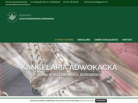 Alinakorzeniewska.pl prawo cywilne