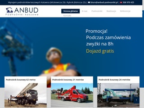 Anbud-podnosniki.pl prace na wysokościach