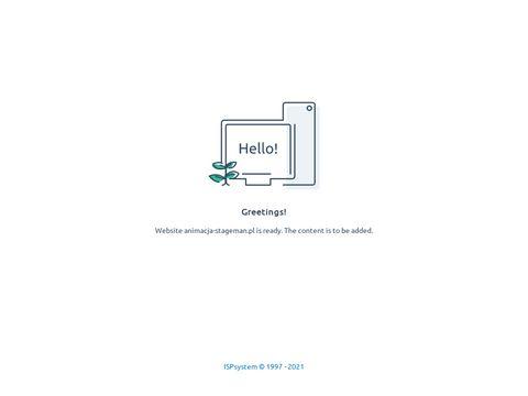 Animacja-stageman.pl kurs animatora