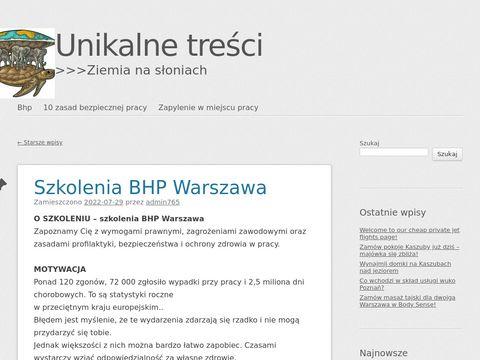 Aktyw-bhp.com.pl Warszawa