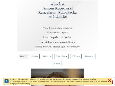 Adwokat-koprowski.pl nieruchomości