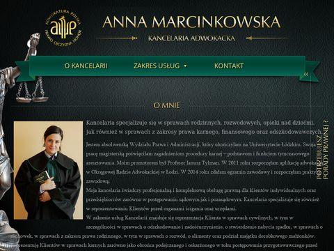 Adwokat-marcinkowska.pl kancelaria
