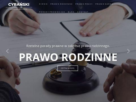 Adwokat-cyranski.com kancelaria