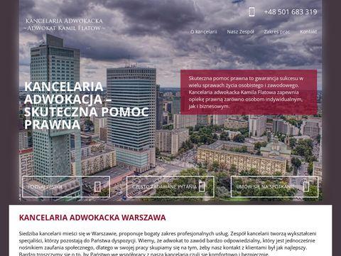Adwokatfhfwarszawa.pl Kamil Flatow