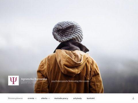 Agnieszka Borowska psycholog Warszawa