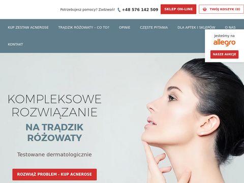 Acnerose.pl trądzik różowaty