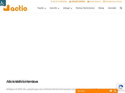 Actio.pl wirtualna centrala