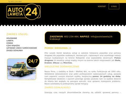 Autolaweta24-krakow.pl