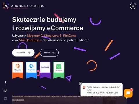 Aurora Creation - sklepy internetowe