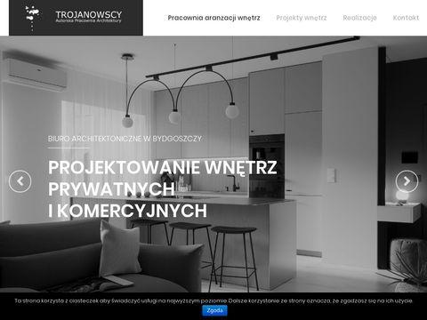 Apatrojanowscy.pl architekt wnętrz Bydgoszcz