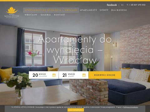 Apartments-wroclaw.com apartamenty we Wrocławiu