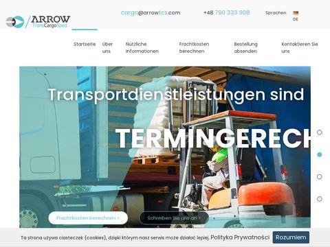 Arrowtcs.com transport międzynarodowy