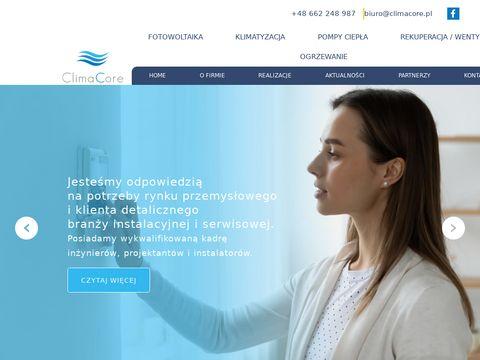 Climacore.pl montaż klimatyacji